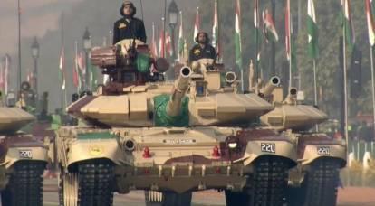 In un possibile scontro di carri armati tra Pakistan e India, VT-4 e T-90 potrebbero convergere