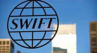 Dalla Russia all'Ovest: disconnettiti da SWIFT, siamo pronti