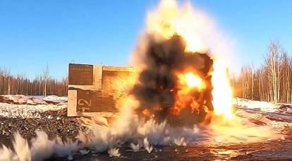 Filmati pubblicati di test di un proiettile perforante russo sconosciuto