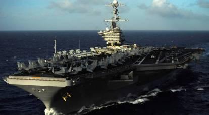 Iran fired missiles toward American ships