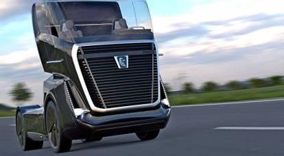 俄罗斯KAMAZ正在准备一场重型卡车世界的革命