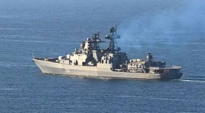 """""""Rottame galleggiante"""": i polacchi hanno ridicolizzato l'incidente tra le navi della Russia e degli Stati Uniti"""