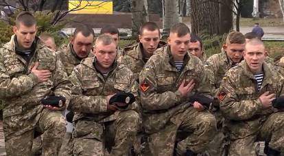 Marines of the Armed Forces of Ukraine deserted from the army, noticing the concentration of Russian troops on the border