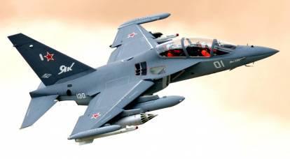 Perché agli americani non piaceva l'aspetto dello Yak-130 in Russia