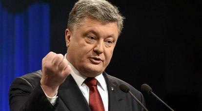 Poroshenko farà causa alla Russia per l'incidente nello stretto di Kerch