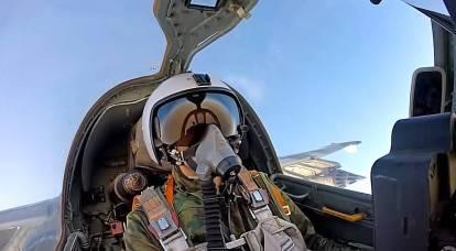 Fuerzas aeroespaciales rusas bombardearon cuevas de militantes en el desierto sirio