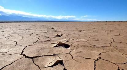 La inminente sequía de diez años en los Estados Unidos será desastrosa