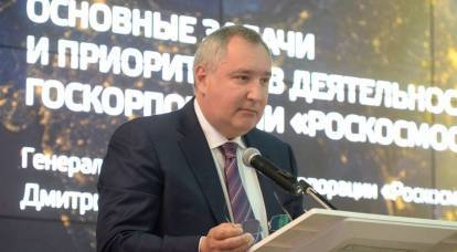 Rogozin: robots cannot replace people in space