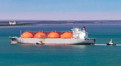 """$ 1000 por 1000 metros cúbicos pode levar à criação do """"LNG-Prom"""" americano"""