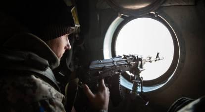 Ukrainian sniper shot a militia in the LPR