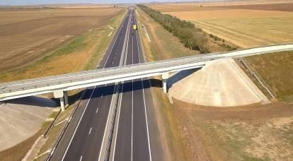 L'autostrada Tavrida collega finalmente la Crimea alla Russia