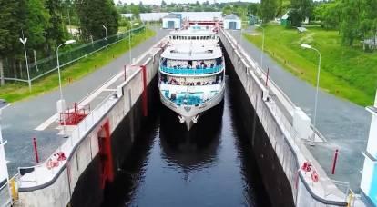 俄罗斯计划大规模复兴白海运河