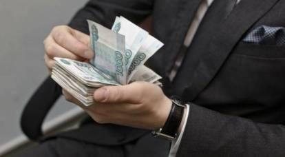 Chi accetta tangenti? In Russia hanno fatto il ritratto di un funzionario corrotto