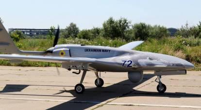 """Recurso ocidental mostrou o """"vôo"""" do UAV Bayraktar das Forças Armadas Ucranianas para as fronteiras do Irã através da zona de defesa aérea da Federação Russa"""
