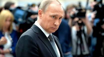 プーチンは個人的にゼレンスキーにブラックマークを送った