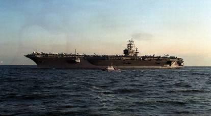 La Cina è preoccupata per la comparsa di tre navi portaerei statunitensi nella regione