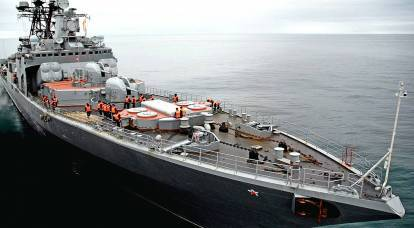 """BOD """"Admiral Vinogradov"""": on the way to becoming a cruiser"""