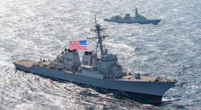 Los rusos reaccionaron a la invasión del destructor estadounidense a las aguas territoriales de la Federación de Rusia