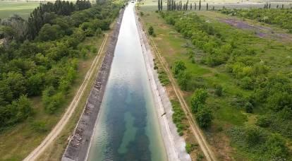 La Crimée a-t-elle besoin d'eau toxique du Dniepr ?