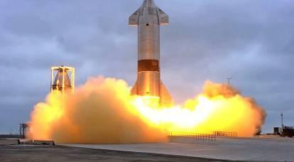 El prototipo marciano de SpaceX completa con éxito las pruebas a gran altitud por primera vez