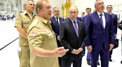 Putin ha finalmente notato i problemi a Roscosmos