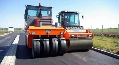 La Russia rotolerà 7 trilioni nell'asfalto