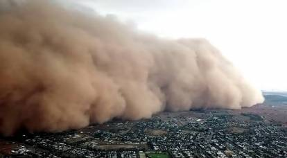 China's sandstorm of the decade threatens Russia: why is it happening