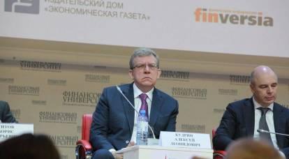 """Kudrin ha parlato del """"buco stagnante"""" dell'economia russa"""