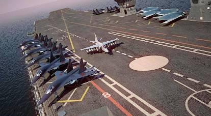 La Russia può costruire una nuova portaerei per mezzo trilione di rubli