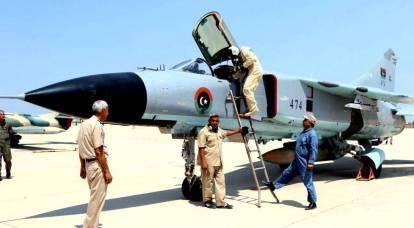 La Russia ha fatto irruzione in Libia