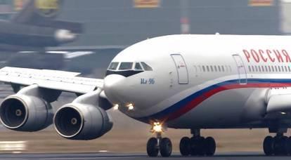 Flug Revue: perché i russi sono riluttanti ad abbandonare Il-96