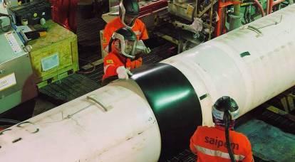 Força da Gazprom. A Rússia continuará sendo uma superpotência energética