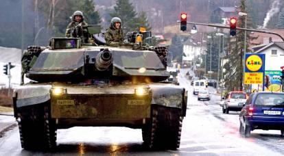 Le strade europee iniziarono a prepararsi alla guerra