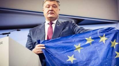 Come Poroshenko ha inquadrato l'Unione europea