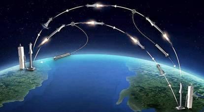 Ovunque nel mondo in un'ora: il Pentagono intende consegnare merci in orbita