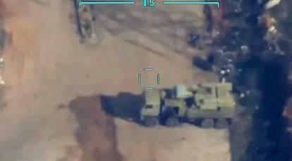 "Ukrainian ""Bayraktar"" spotted air defense systems ""Tor"" and ""Pantsir"" in Donbass"