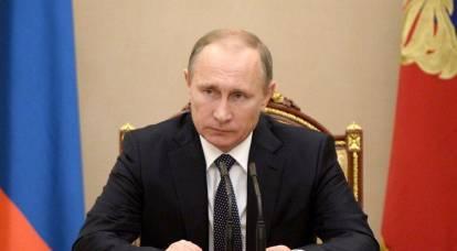 Putin ha firmato un decreto sulle sanzioni contro l'Ucraina