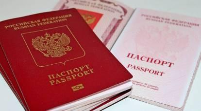 Los titulares de pasaportes rusos en Ucrania van a privar la ciudadanía ucraniana