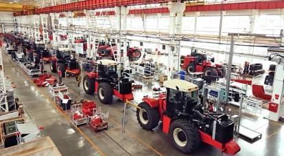 俄罗斯正在自信地恢复其拖拉机行业