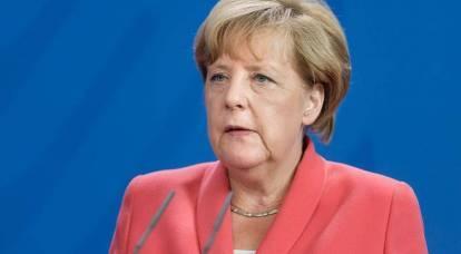 Merkel said the need to create an alternative to NATO