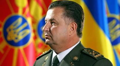 Poltorak ha spiegato perché i marinai ucraini non hanno sparato ai russi