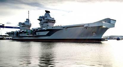 Londra: andiamo a battere i russi su una portaerei che perde
