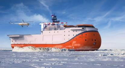 What is the uniqueness of the North Pole self-propelled platform under construction in Russia