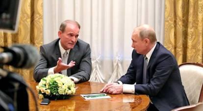 """""""Traidor Medvedchuk"""": cómo Zelensky decidió burlarse de Putin"""
