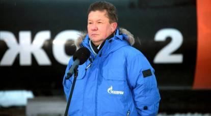 Sly Miller: como a Gazprom está levando a Europa a uma escolha incontestável