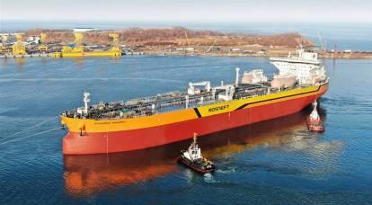 Perché ha lanciato la prima petroliera Aframax è diventato l'orgoglio della Russia