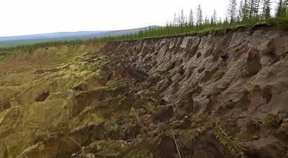 WSJ sobre derretimento do permafrost na Rússia: gás, petróleo, cidades - os russos têm tudo em jogo