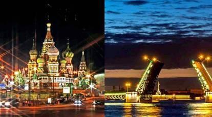 ¿En qué se diferencian los moscovitas de los Petersburgers?