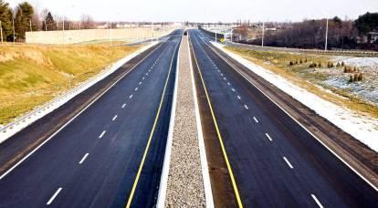 La prima autostrada privata collegherà metà della Russia