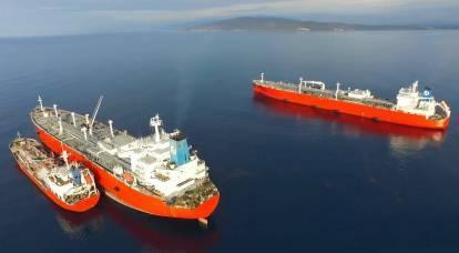 Alors que les Américains grondent le « sale gaz russe », le pétrole russe « inonde » le marché américain